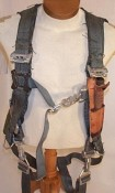 """PCU-15 Torso Harness, USAF aircraft like the F-4, F-15, A-10 - Prices vary based on size & conditio"
