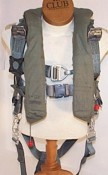 """PCU-15A/P Torso Harness, ACESII / F-16 Falcon Aircraft Use - Prices vary based on size & condition."