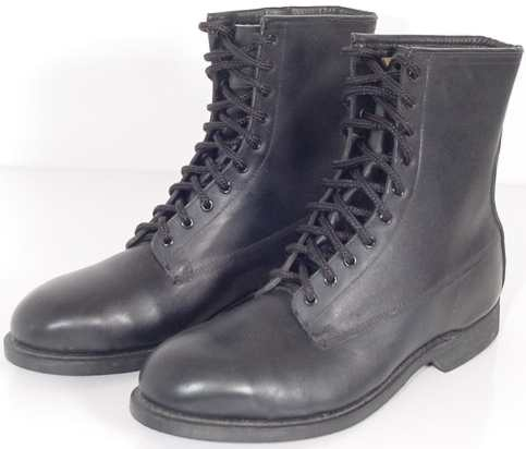 """Addison Leather Flight Boots, with Steel Safety Toe - 9"""" Tall. See drop menu for size & price."""