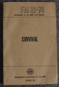 US Army FM-21-76 Survival Manual
